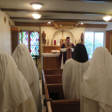 Our beloved sisters – the Norbertine Canonesses of Tehachapi, CA, USA.